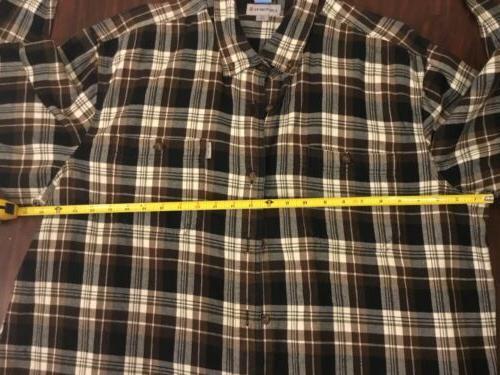 Carhartt Men's Flannel Size