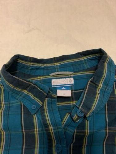 Mens Columbia Flannel XL Shirt Long NWOT