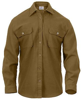 mens flannel shirts long sleeve shirt heavyweight