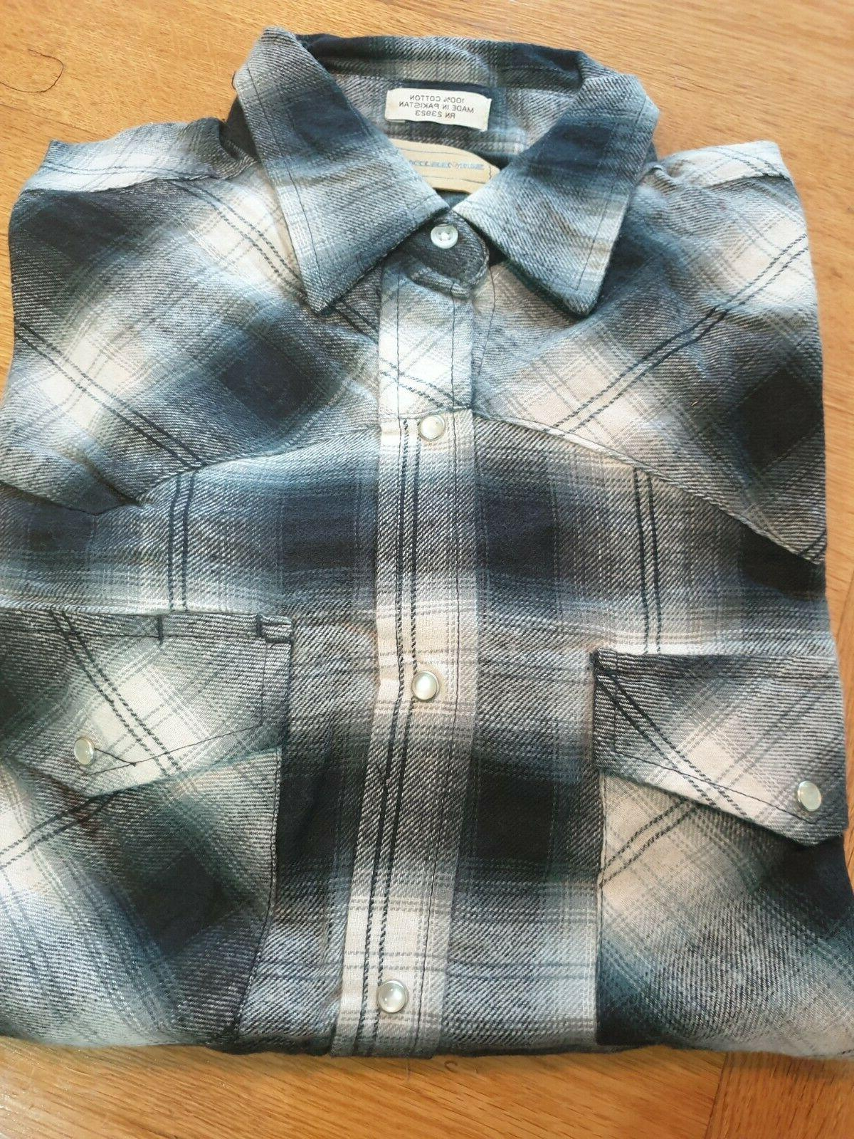flannel check winter shirts