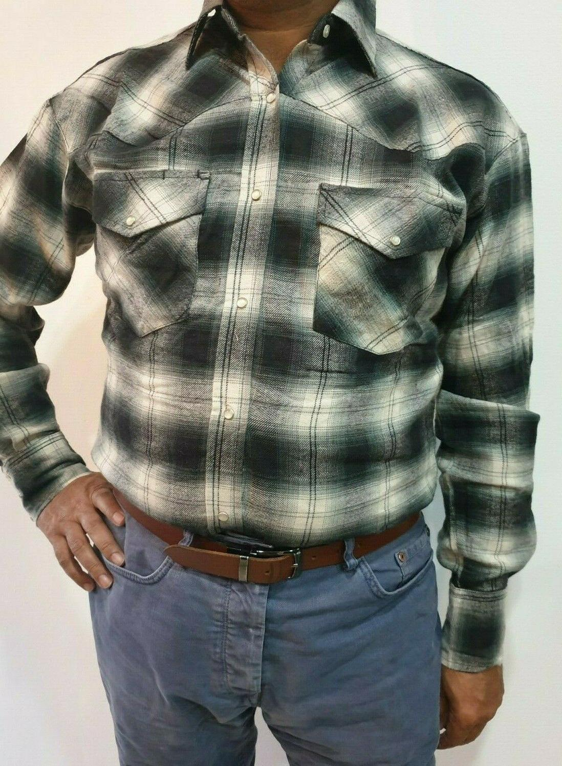 Mens Flannel flannel Assorted check shirts
