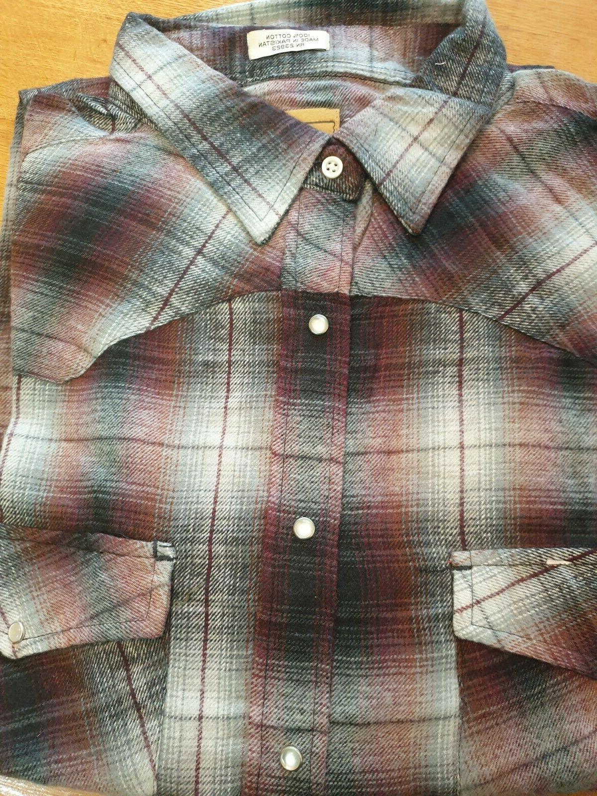 Mens Flannel flannel Assorted colour check