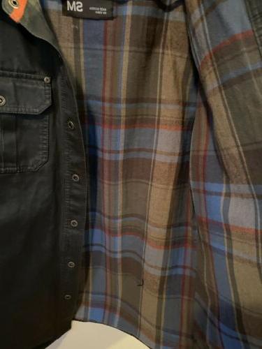 LEGENDARY WHITETAILS Shirt Jacket Lined Gray