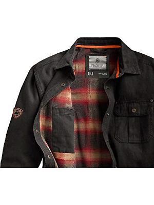 Legendary Mens Shirt Jacket Tarmac