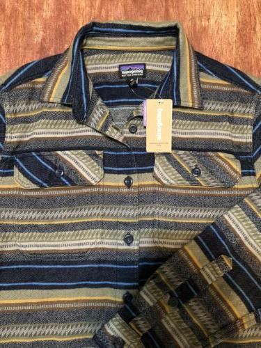 PATAGONIA MEN'S FLANNEL XS Dobby: Navy Blue $89