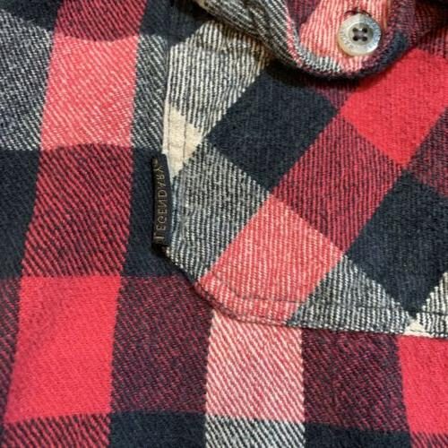 Legendary Classic Sleeve Flannel Red