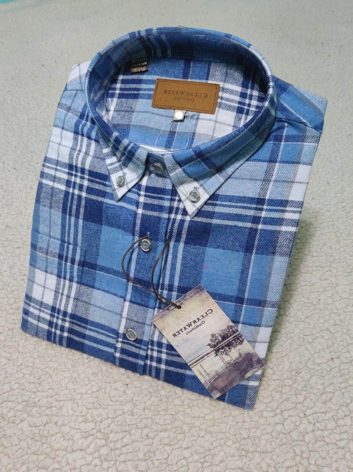 Mens Sleeve Soft Cotton Men's M L 2XL