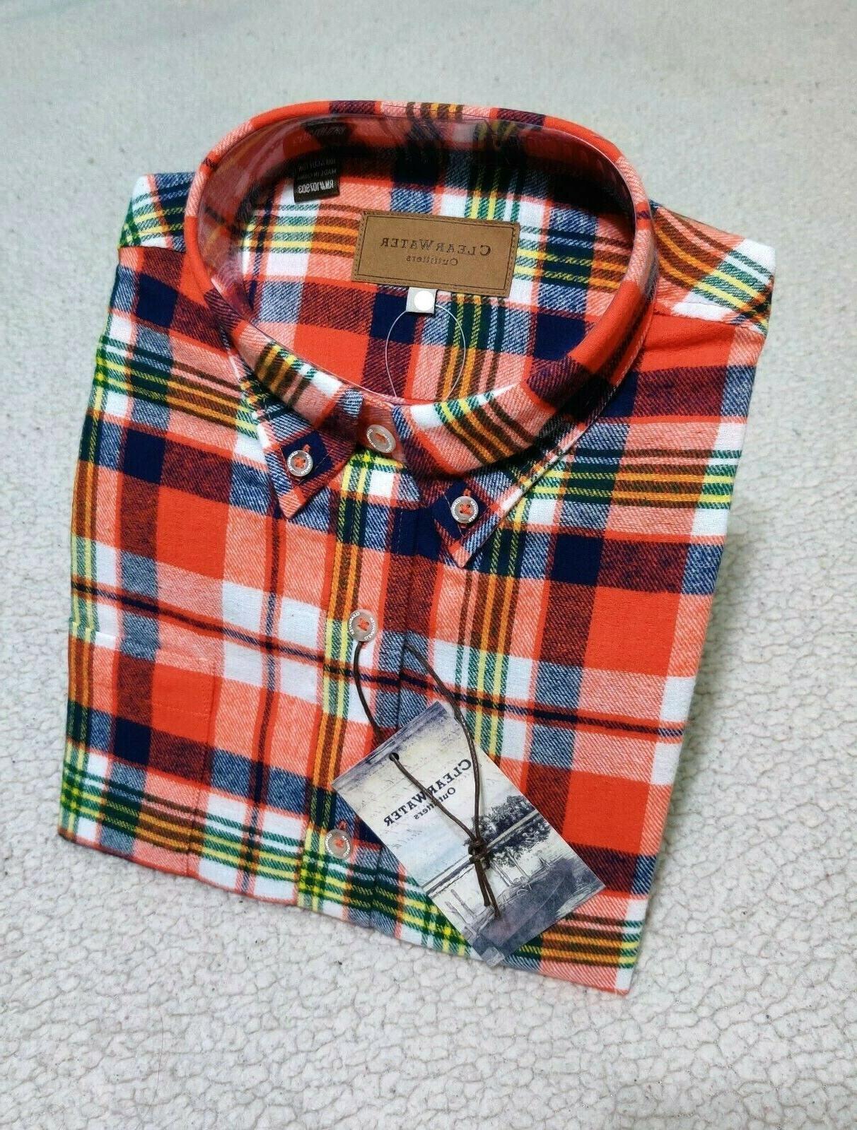 Mens Sleeve Up Flannel Soft | Men's L 2XL