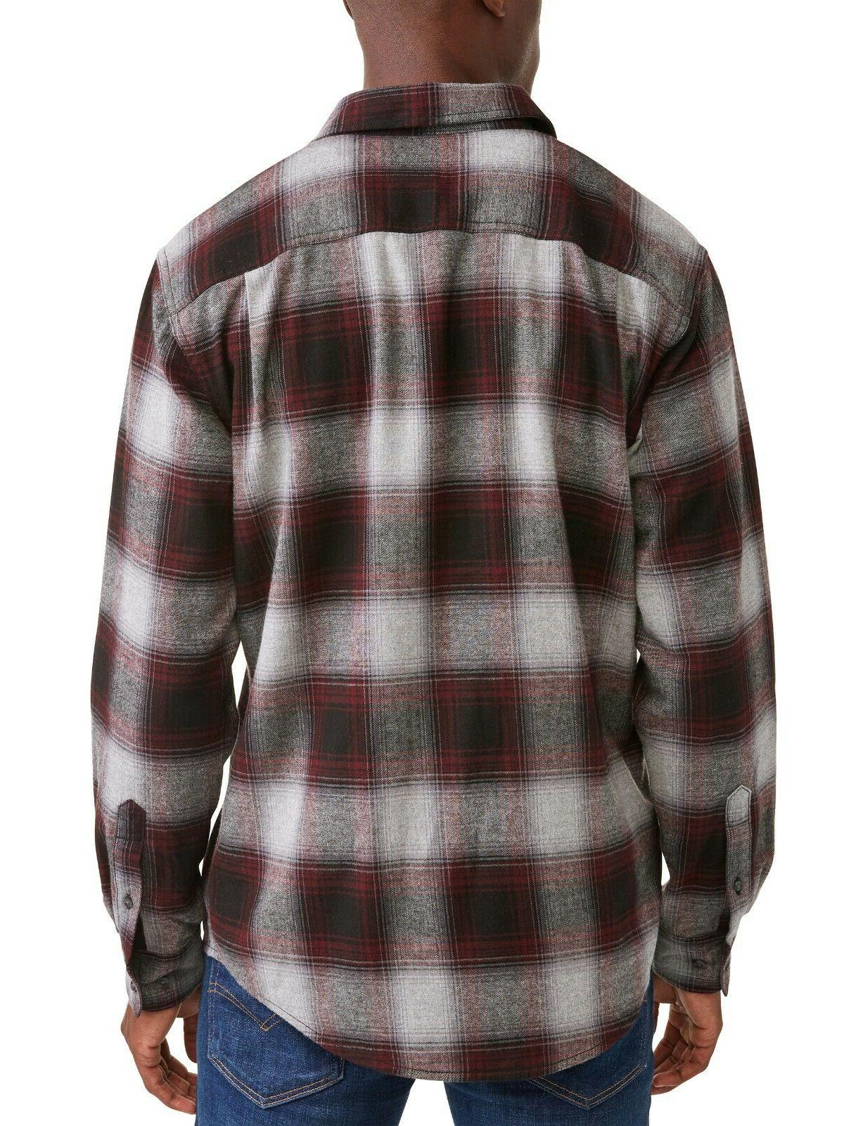 George Mens Long Flannel M