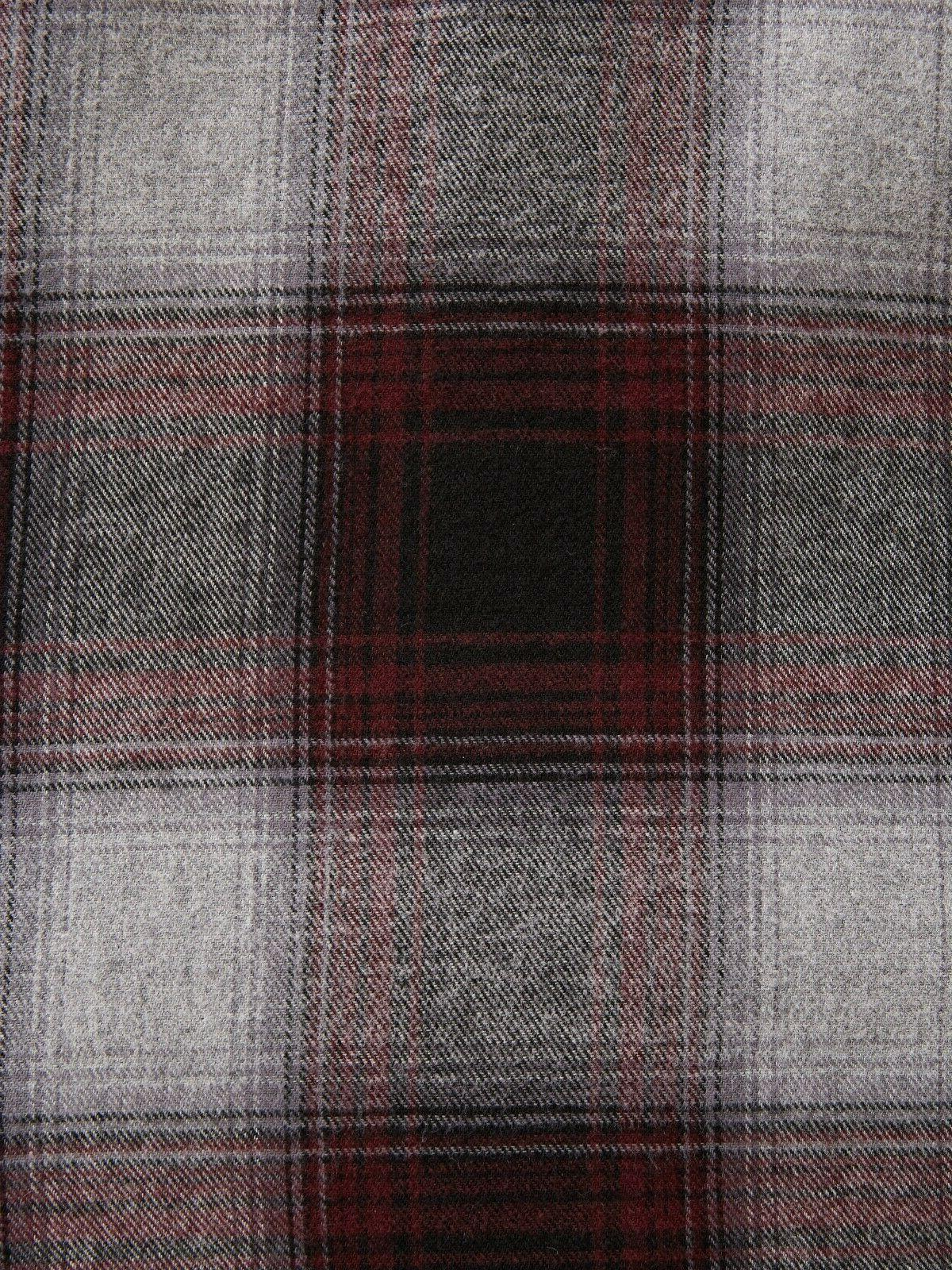 George Mens Long Flannel