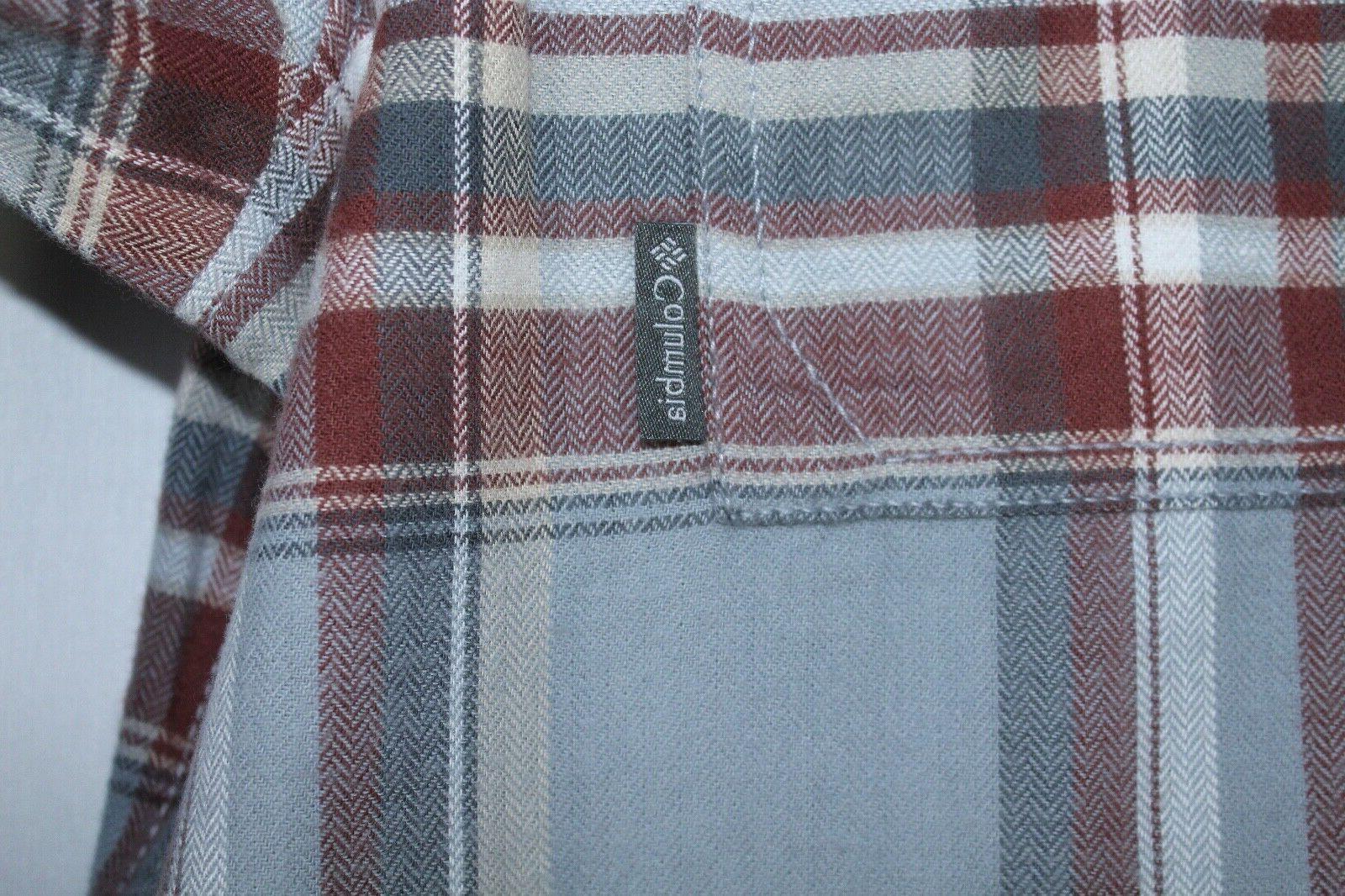 Columbia Plaid Button Down Shirt
