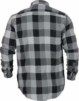 Quiksilver Mens Flannel Shirt Gray
