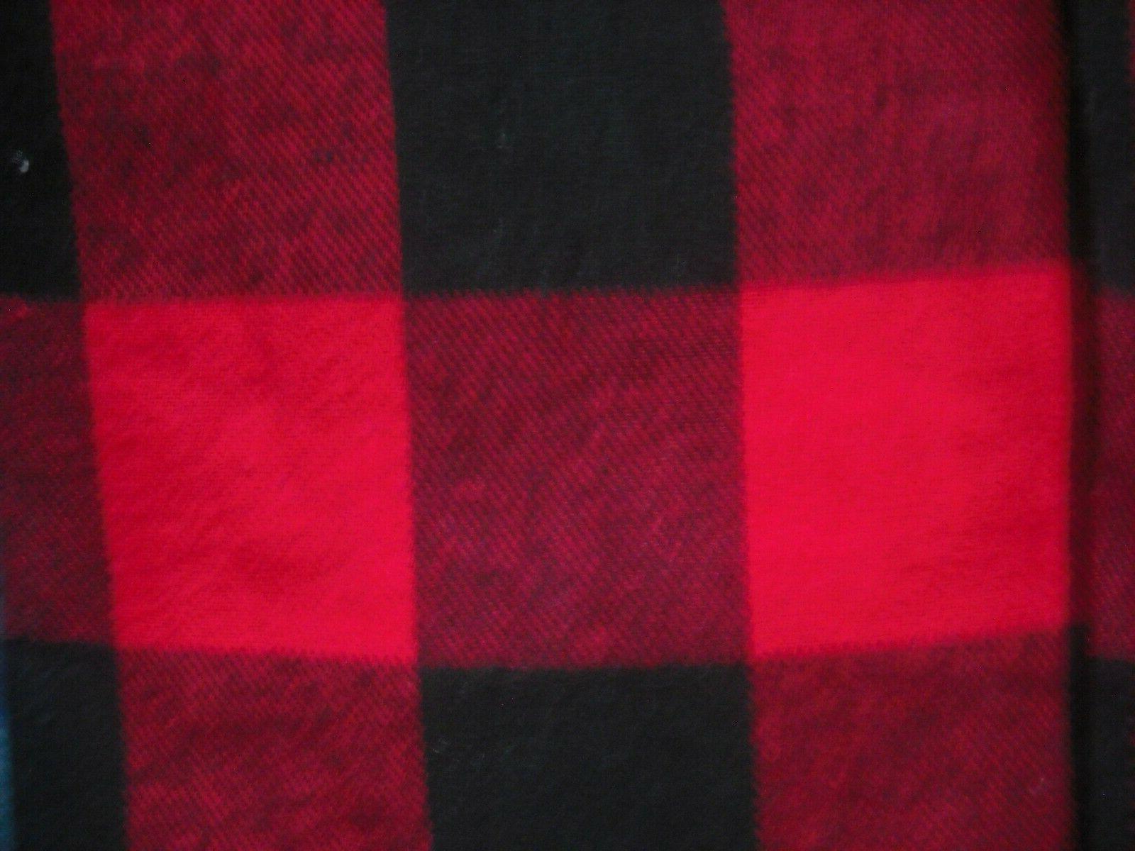 Mens NWT Flannel SET 2 TALL Red/Black Plaid