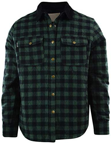 mens premium button down flannel long sleeve