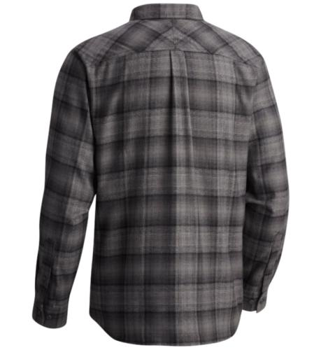 Columbia size Silver Sleeve Shirt Plaid Black