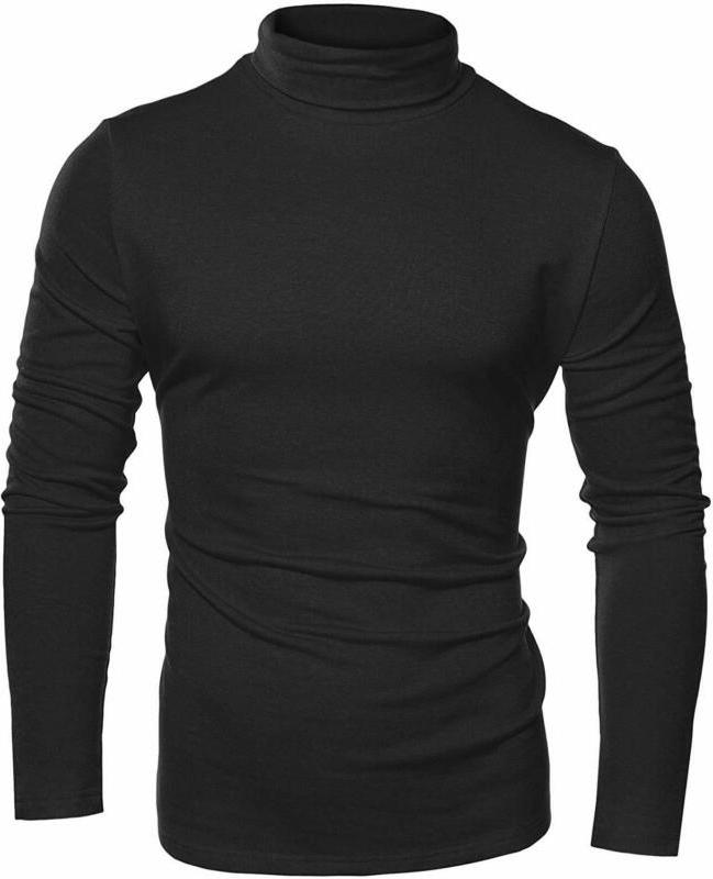 COOFANDY Basic Shirts Knitted