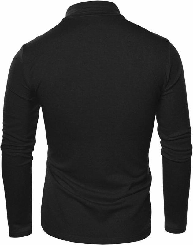 COOFANDY Mens Basic Shirts Casual Knitted
