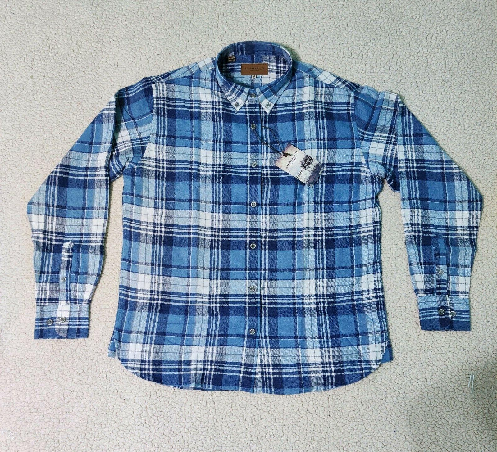 Mens Flannel Up Shirts | Men's M