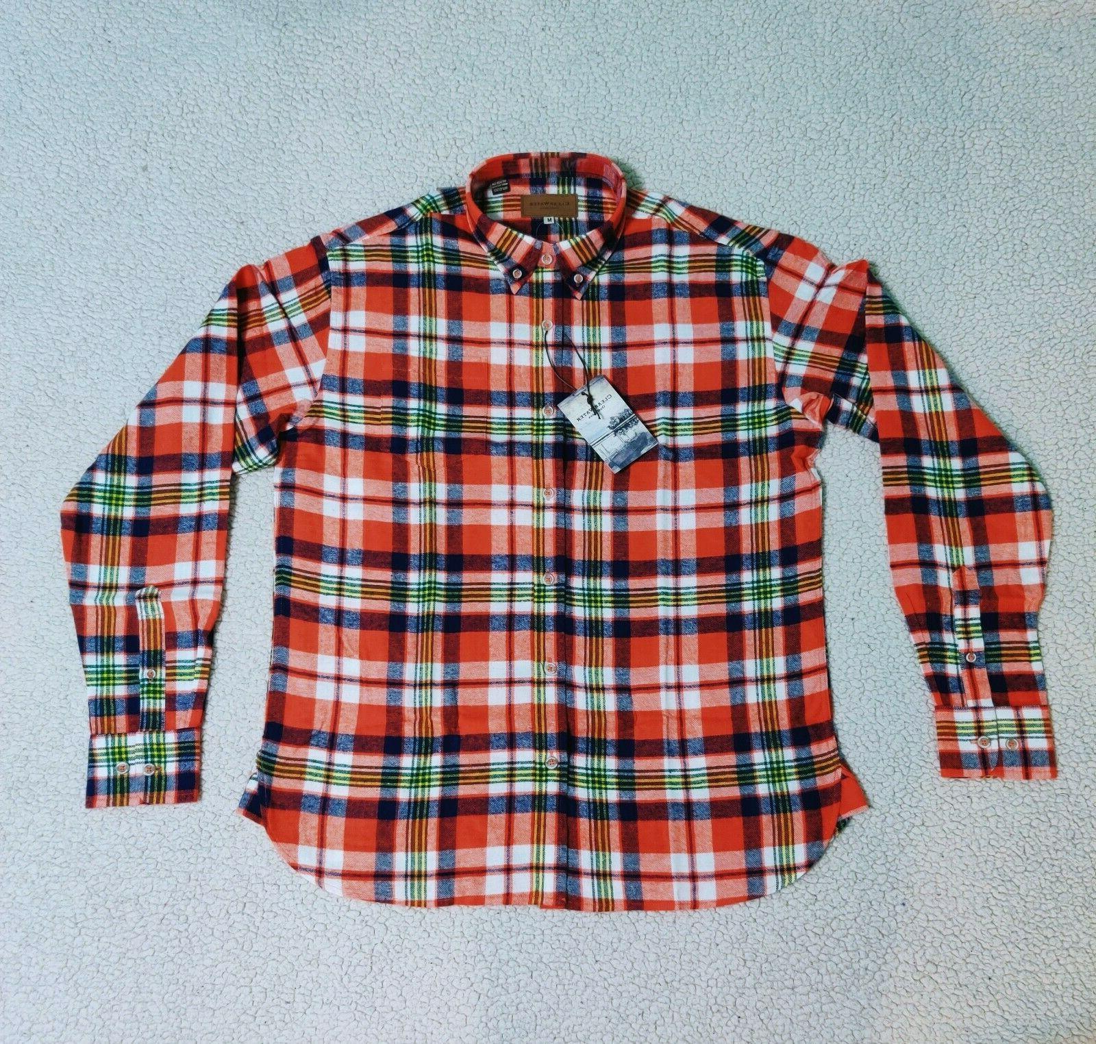 Mens Soft Flannel Long Up Shirts | Men's M XL 2XL