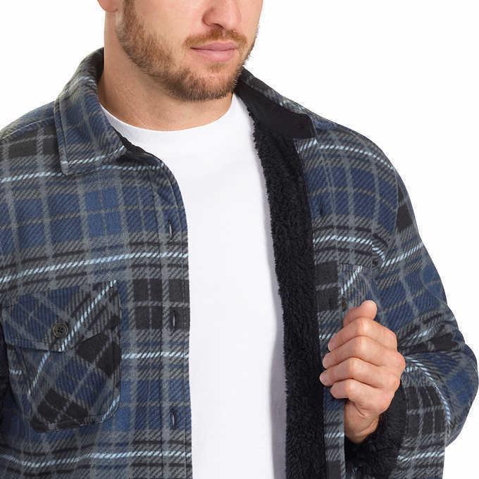 Freedom Foundry Men's Plush Shirt Jacket