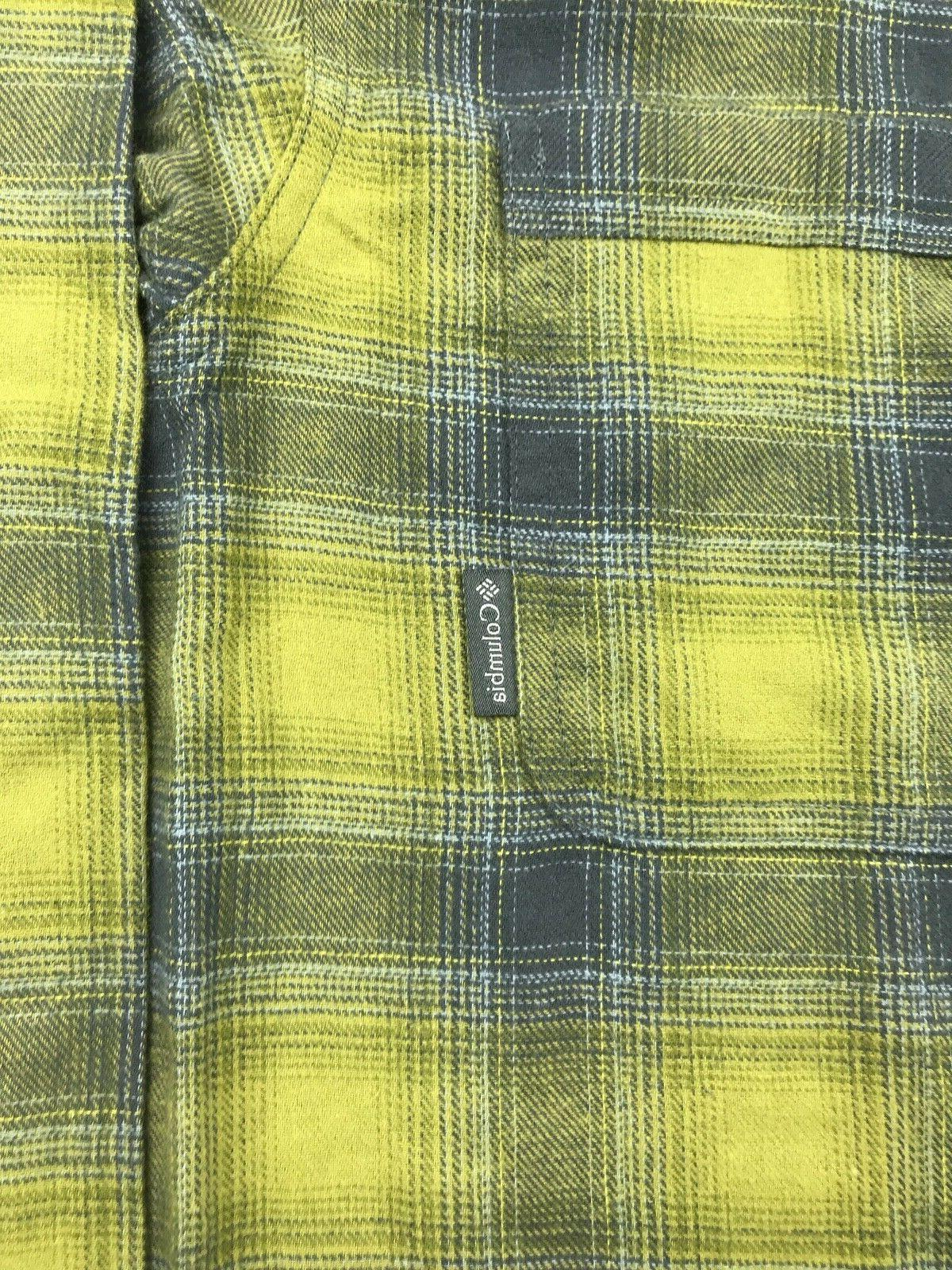 Columbia Mens Yellow Boulder Brushed