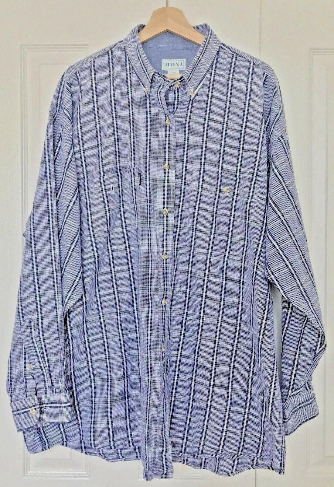 mens xl long sleeve ls flannel button