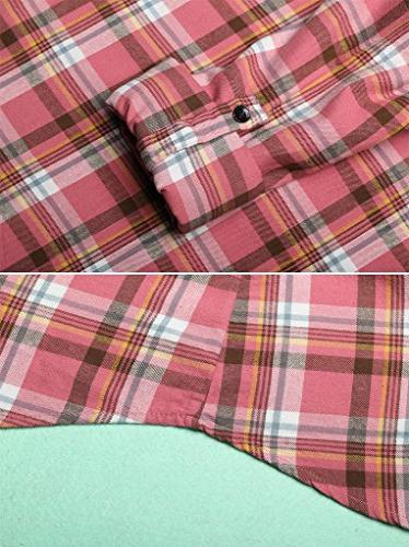 Style Up Plaid Shirt C144 Pink Tag XL/ US