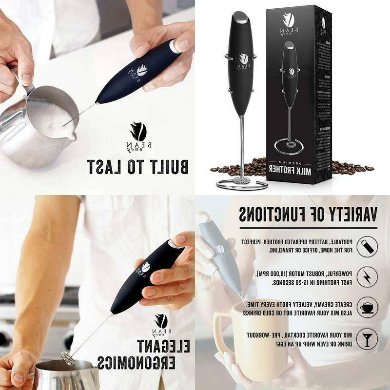 milk frother handheld perfect for the best