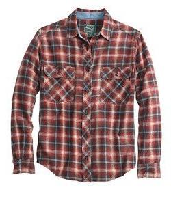 Woolrich Miners Wash Flannel Long Sleeve Shirt - Men39;s