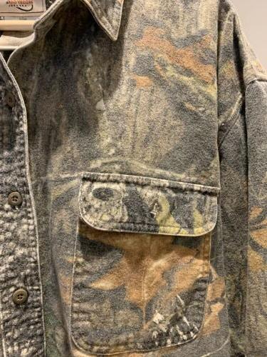 Mossy Oak Apparel Chamois Soft Front Shirt EUC XL 46-48