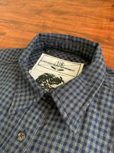 Rogue Navy / Gray Flannel Shirt
