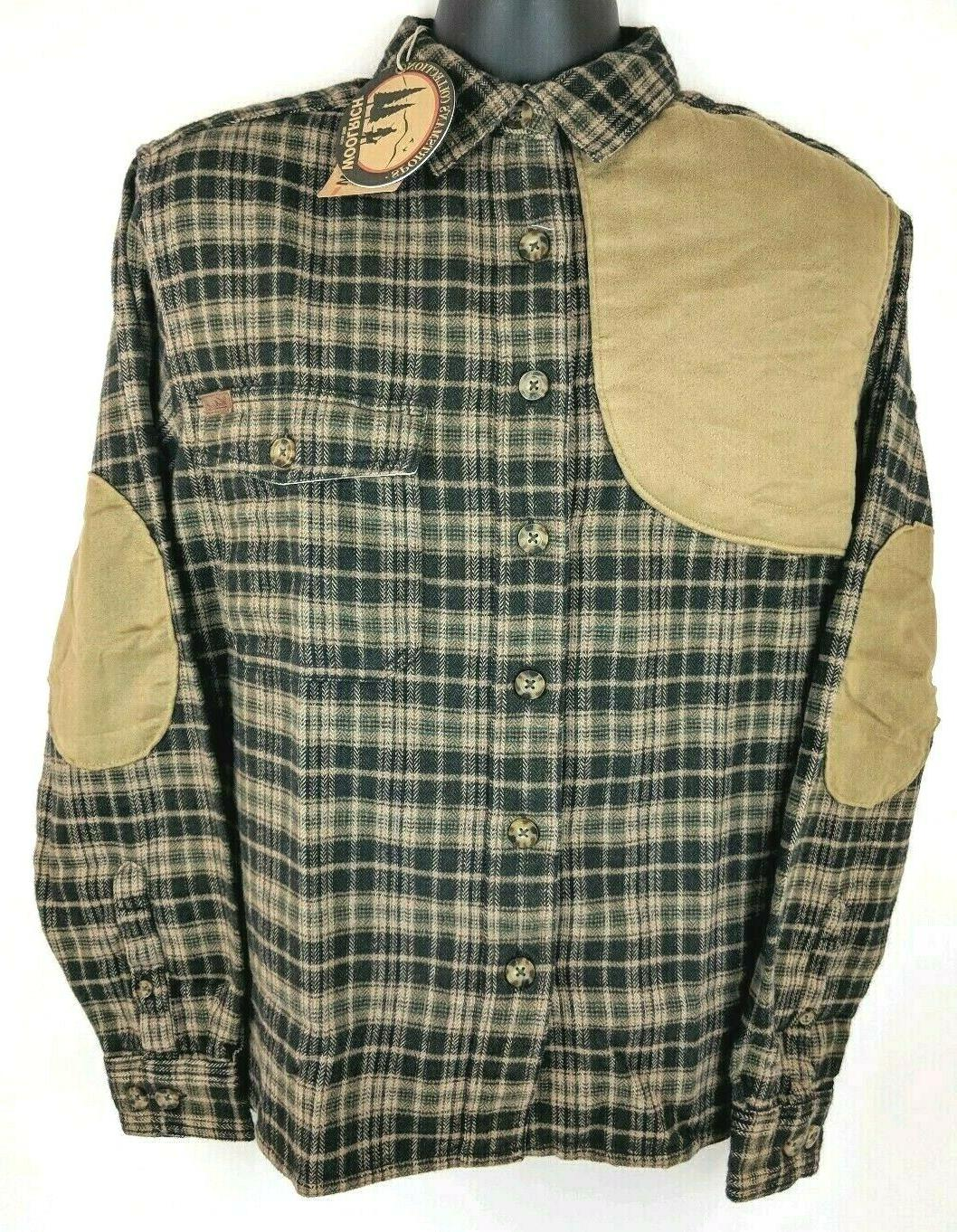 new flannel plaid shooting padded hunting long