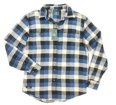 NEW GH CO SARGASSO SEA THICK TWILL OVERSIDED SHIRT S