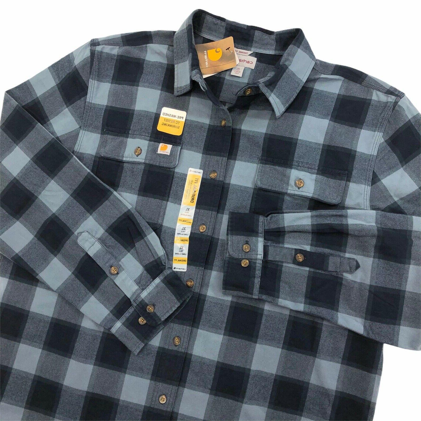 new hubbard heavy flannel long sleeve shirt