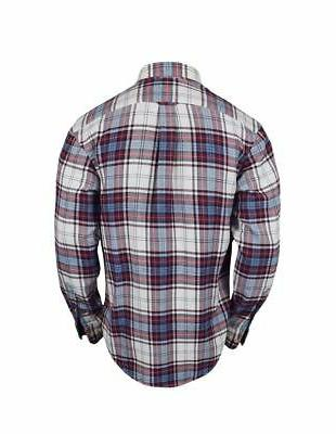 New Izod- Flannel Red