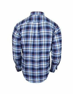 New Long Flannel Federal