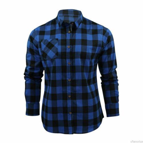 New Sleeve Flannel Check Print Shirt