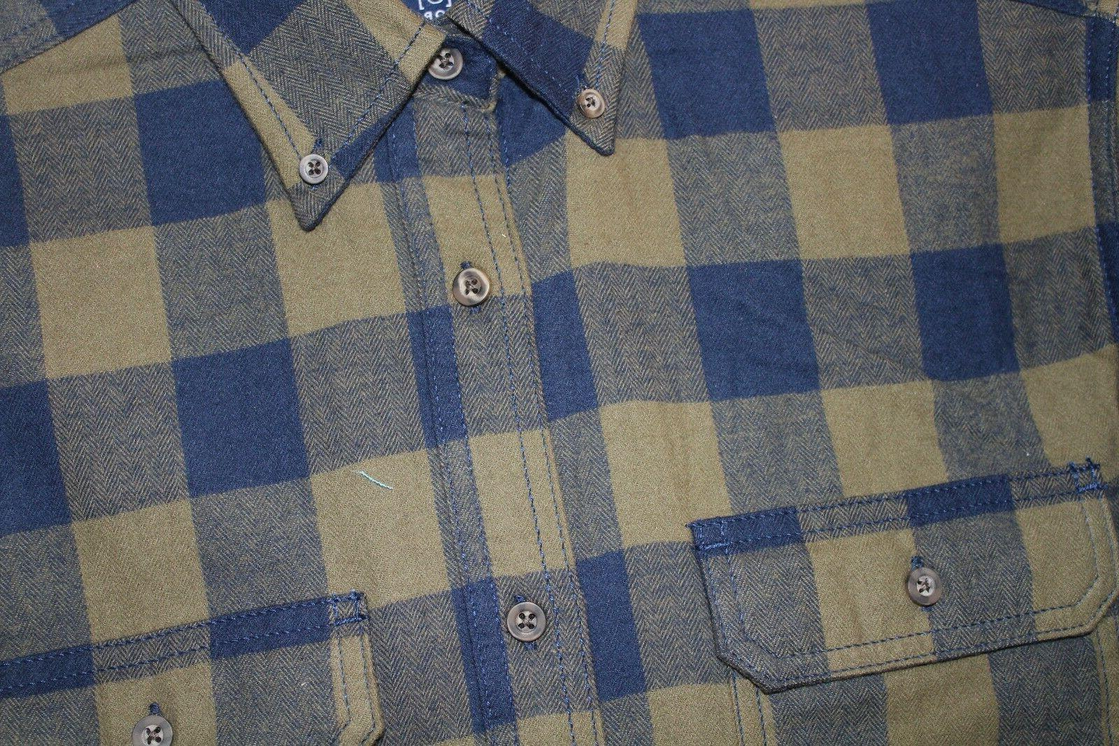 NEW Men's Long Flannel by Size Small