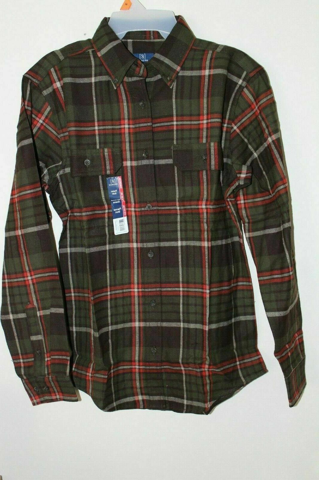 new men s plaid flannel shirt in