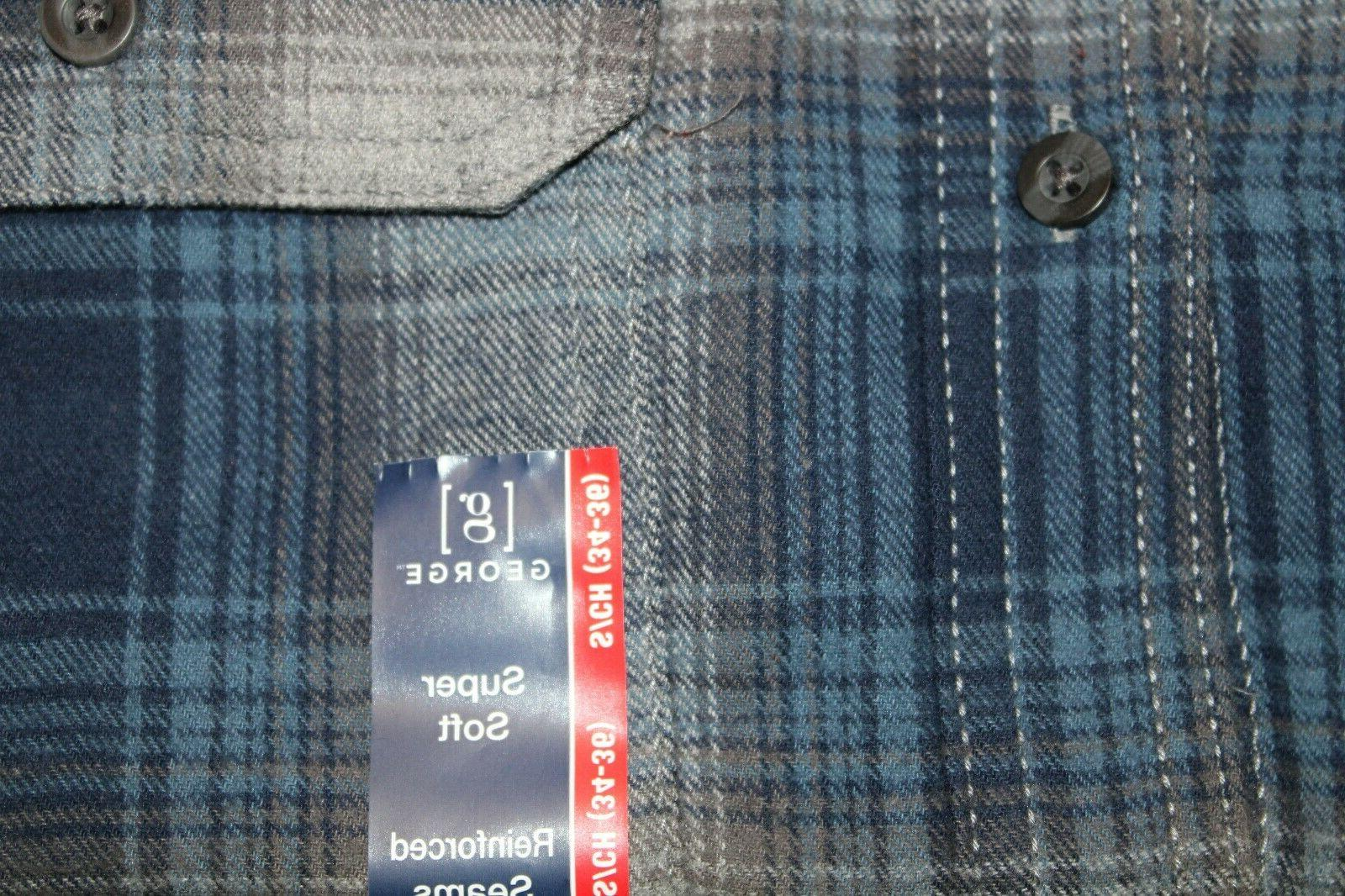 NEW Plaid Flannel Shirt S Button Choose