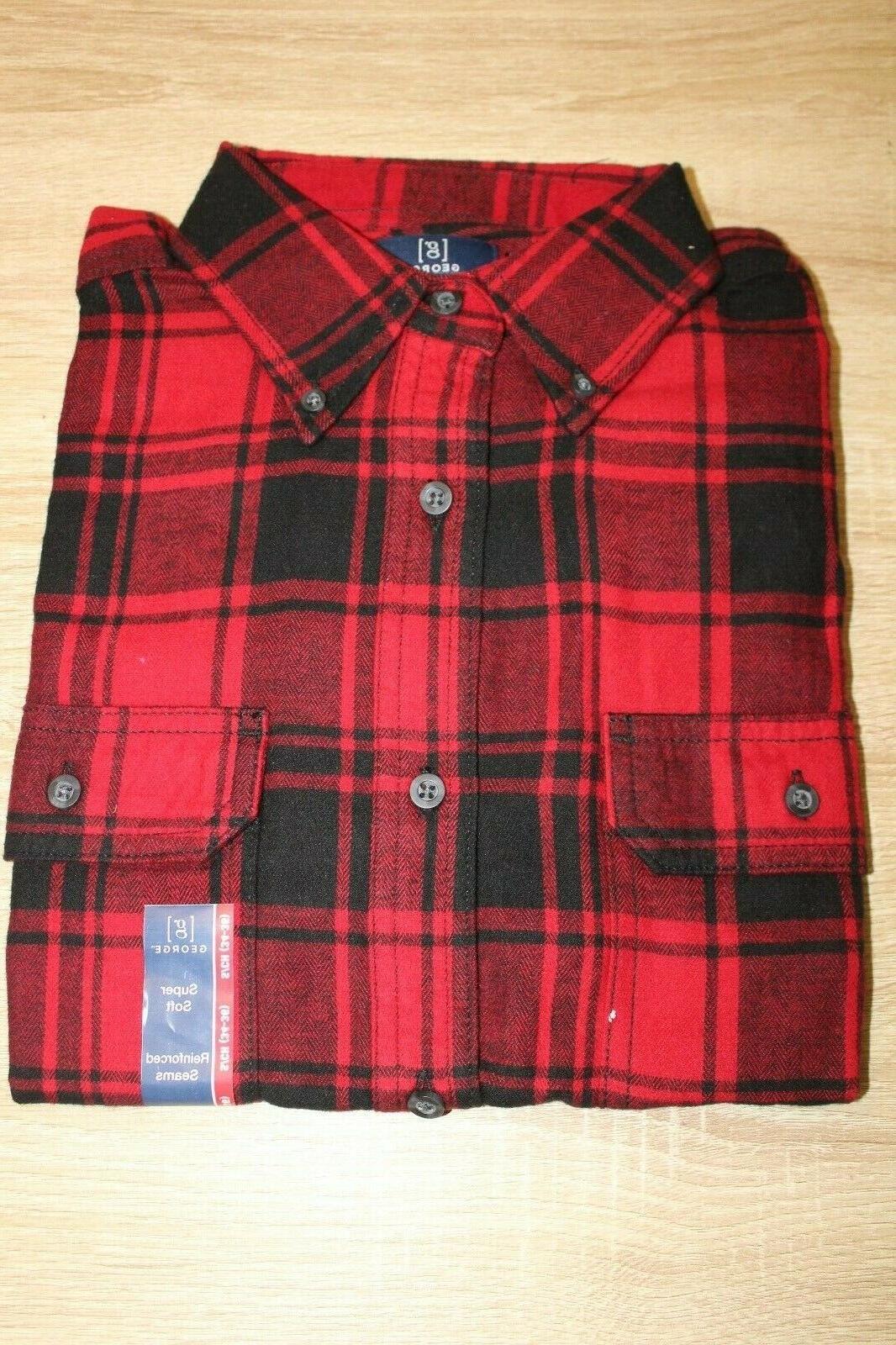 NEW Plaid Flannel Size S Button Choose