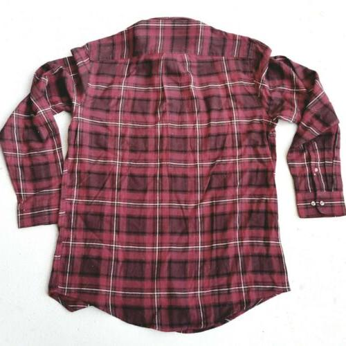 New Arrow Mens Saranac Button Down Shirt Gray
