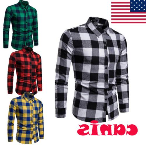 classic us men s plaid shirts flannel