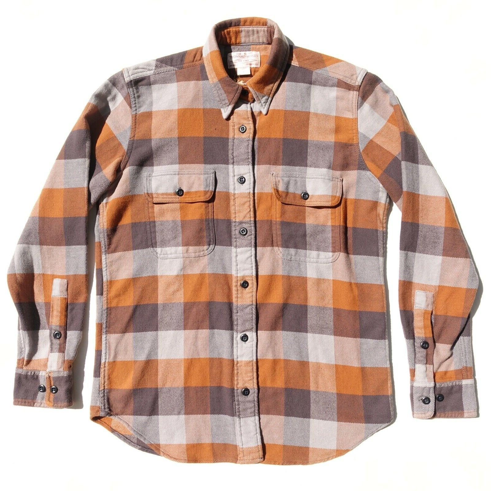 new with tags flannel work shirt mens