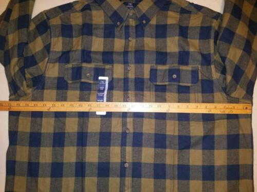 NEW GEORGE 2XL FLANNEL