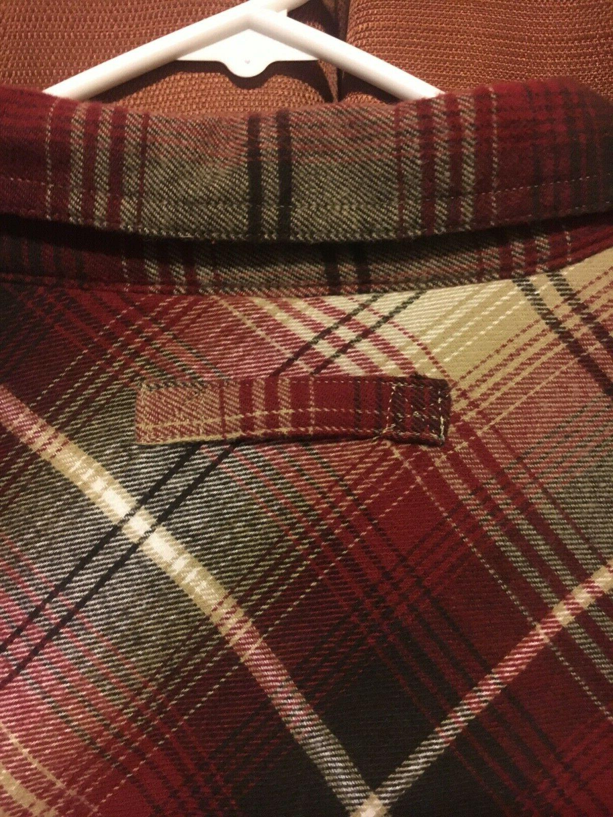 NWOT Legendary Flannel Size Large