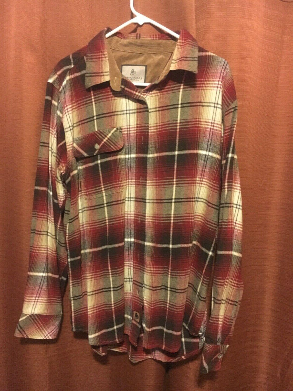 nwot flannel size large