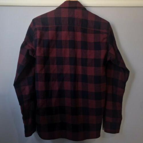 NWOT Box Plaid Flannel XS