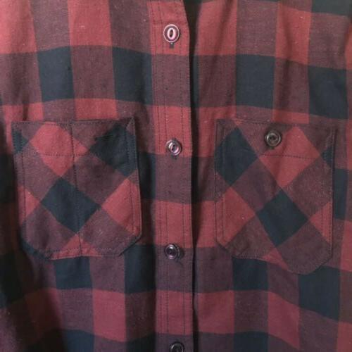 NWOT Rogue Box Neppy Flannel Shirt XS