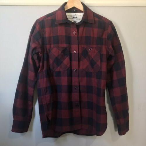 nwot hunter box check plaid neppy flannel